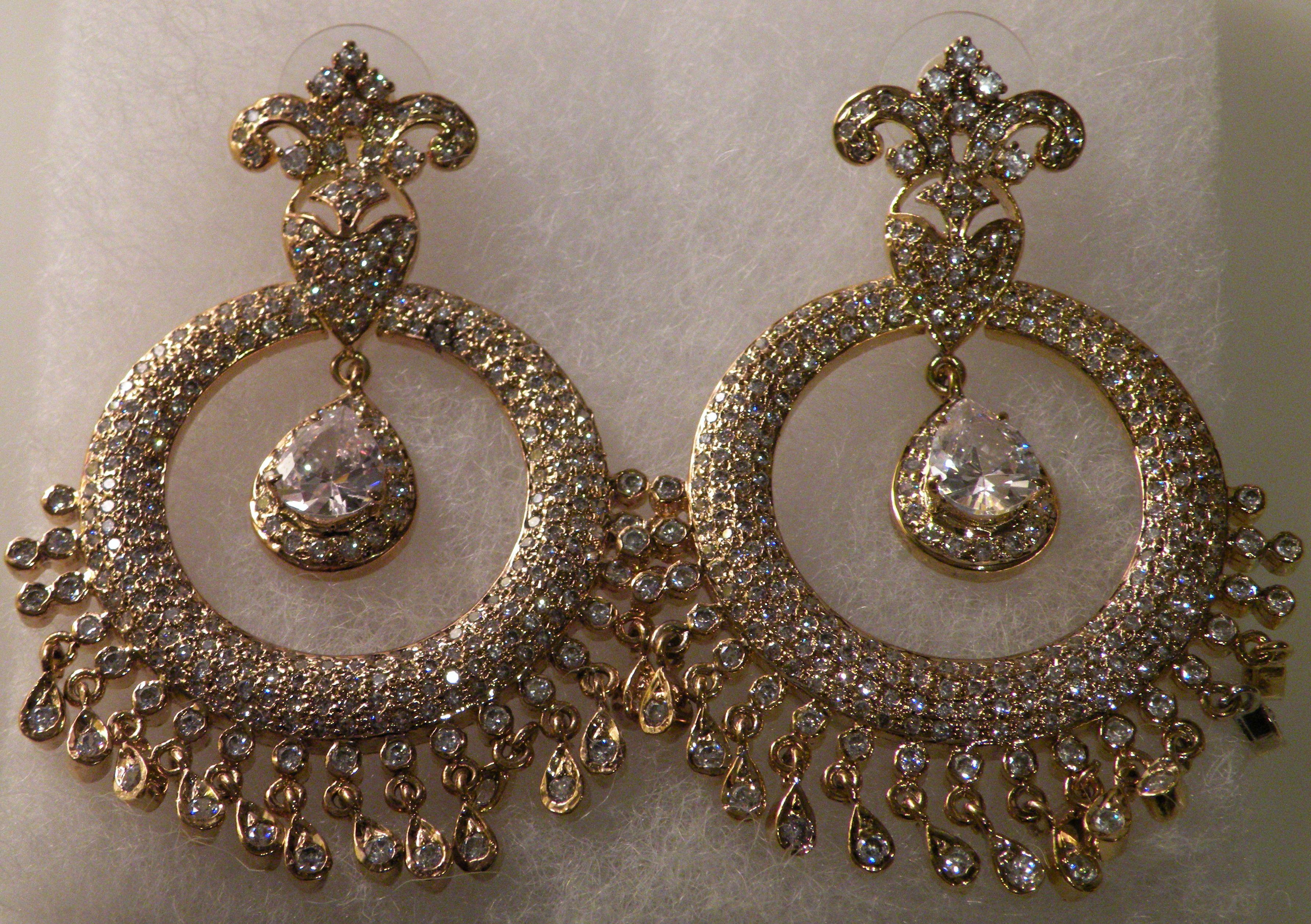 Big bridal chandelier earrings musethecollective big bridal chandelier earrings musethecollective arubaitofo Choice Image