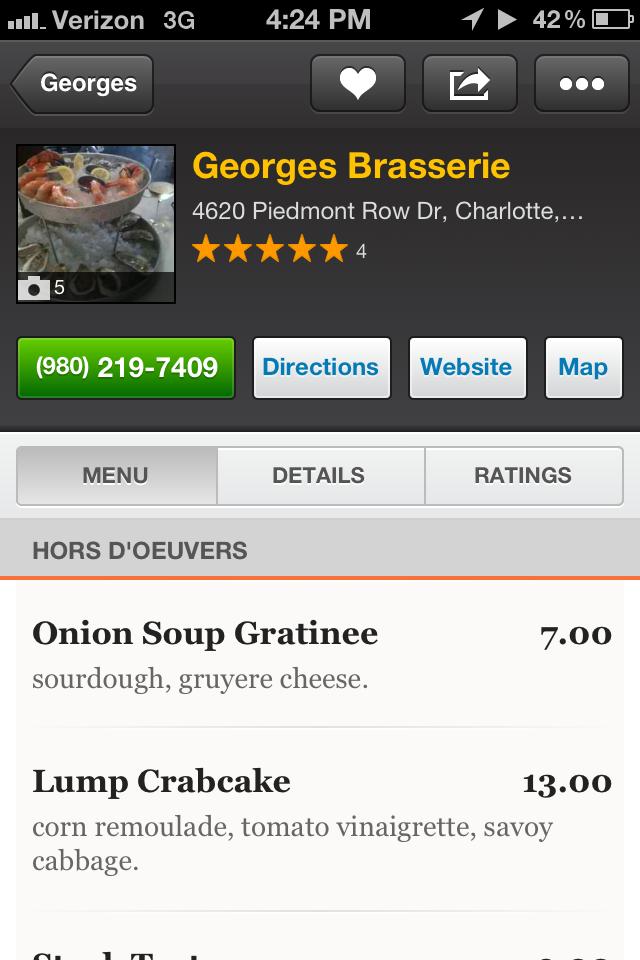 Georges Brasserie