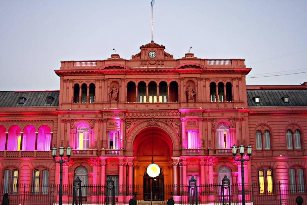 Buenos aires argentina la casa rosada my beautiful for Casa argentina