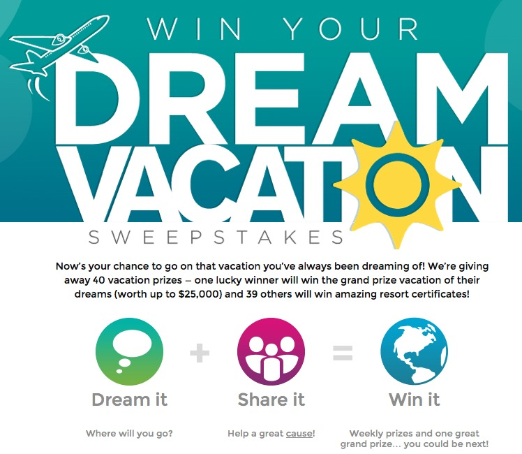 RCI: Dream Vacation Contest