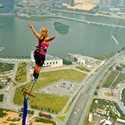 Bungee Jumping in Macau