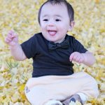 Joaquín's First Thanksgiving + Troy James Baby Boy Bow Tie Giveaway