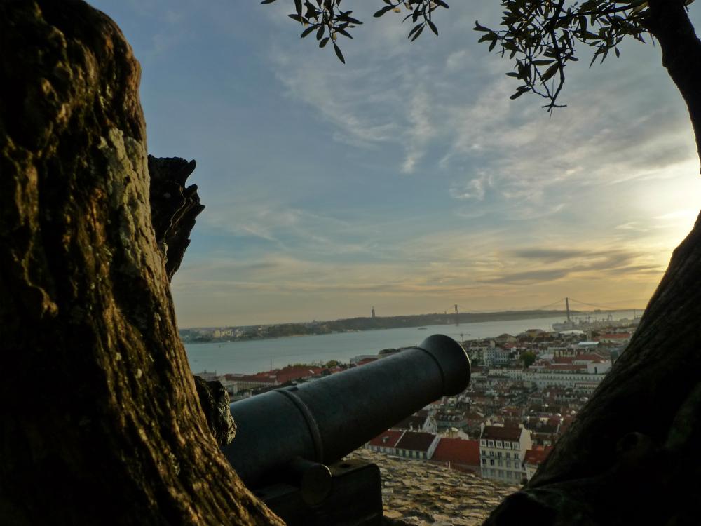 São Jorge Castle Cannon