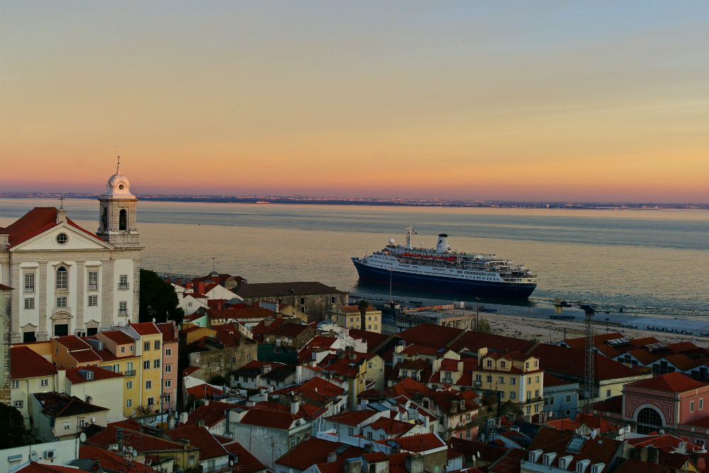 Alfama Sunset