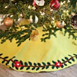 Review: NOVICA Christmas Tree Skirt + $50 Giveaway