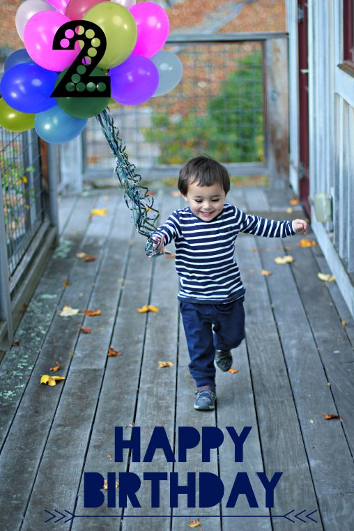a love letter to my son on his second birthday
