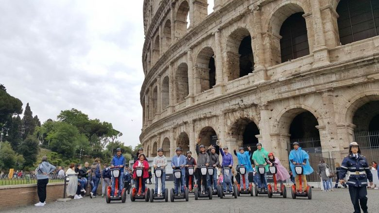 Segway Tours in Rome Colosseum