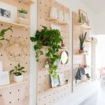 How To Install A DIY Huge Pegboard Onto The Wall