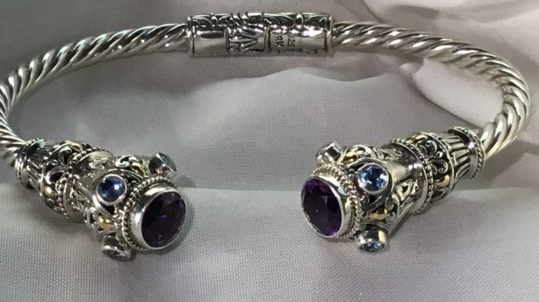 Galatea Designs Sterling Silver Cuff