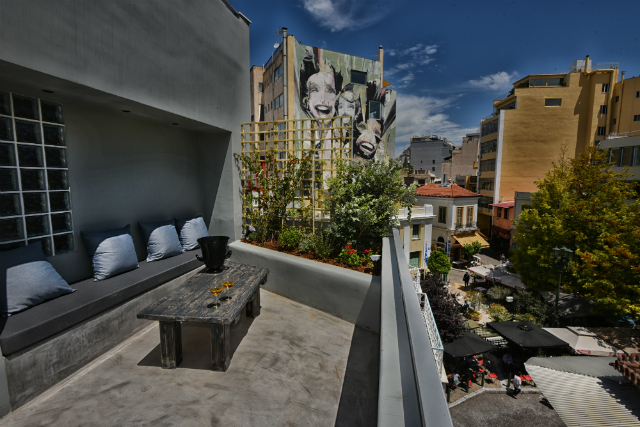 Balcony Life At Andronis Athens Boutque Hotel
