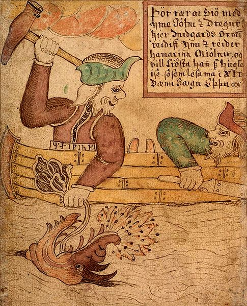 Nordic Mythology Depiction