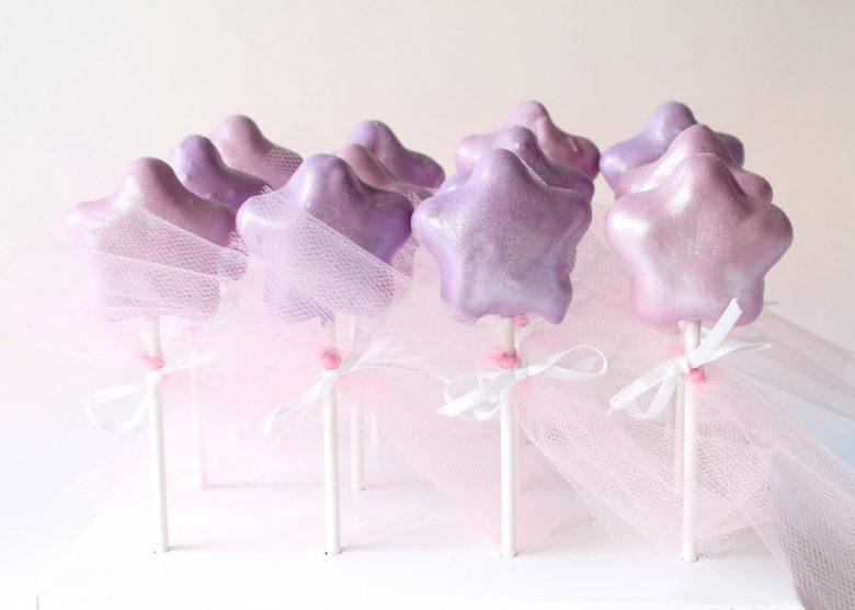 Magical Fairy Wand Cake Pops