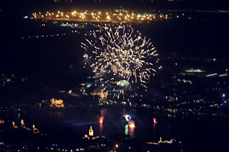 Fireworks in Kissimmee