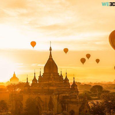 Bagan Skyline