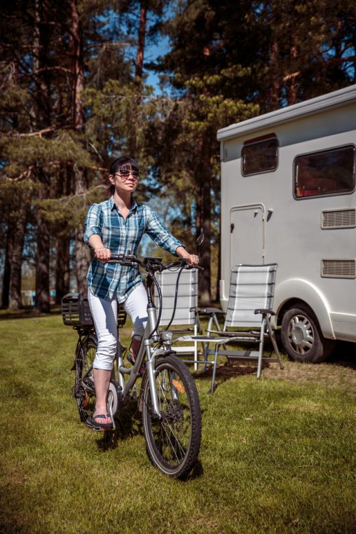 Biking While Camping