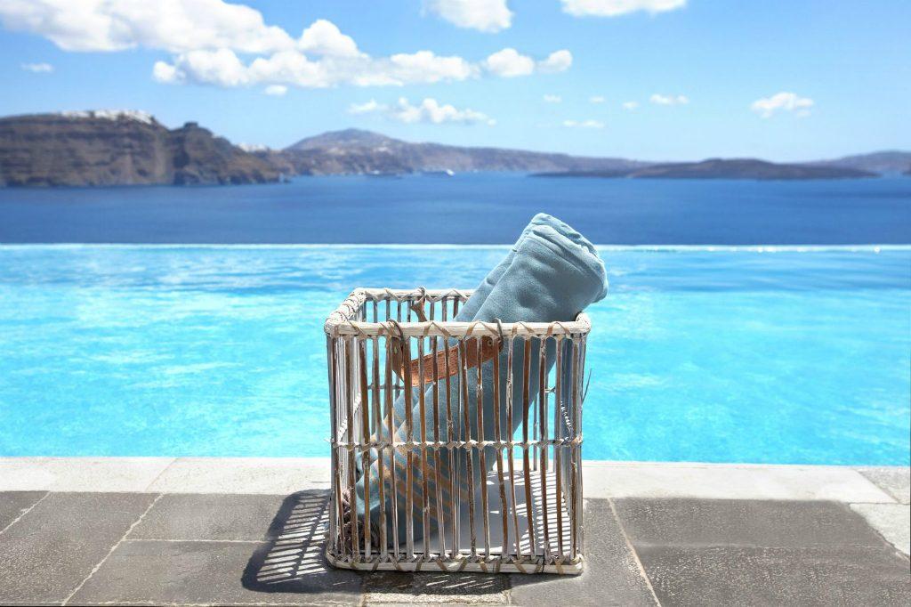 Detail of outdoors at Santorini Secret Suites & Spa in Santorini