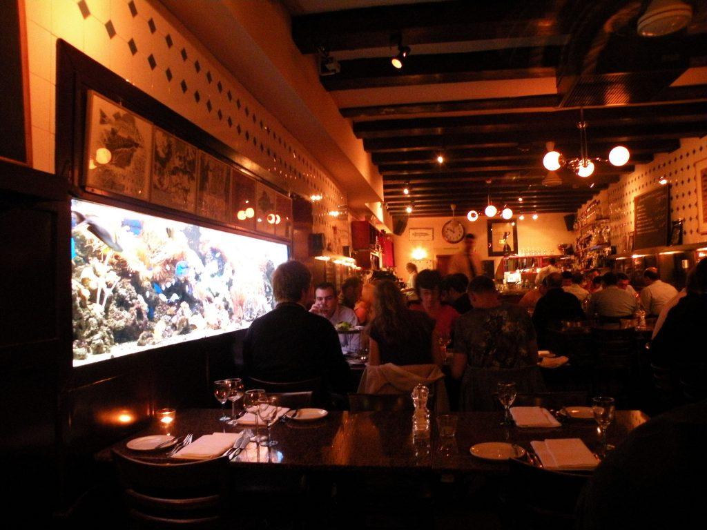 A restaurant in AmsterAmsterdam, Netherlandsdam, the Netherlands