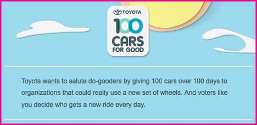 Toyota-100-Cars-For-Good