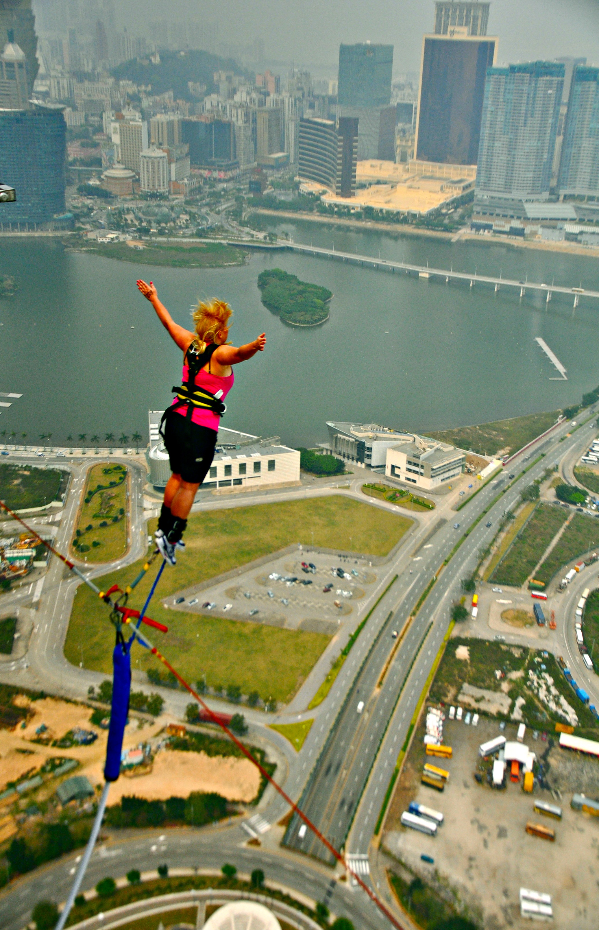 Bungee Jumping Myrtle Beach The Best Beaches In World Macau