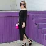 Behind My Lens: Off-The-Shoulder Midi Dress