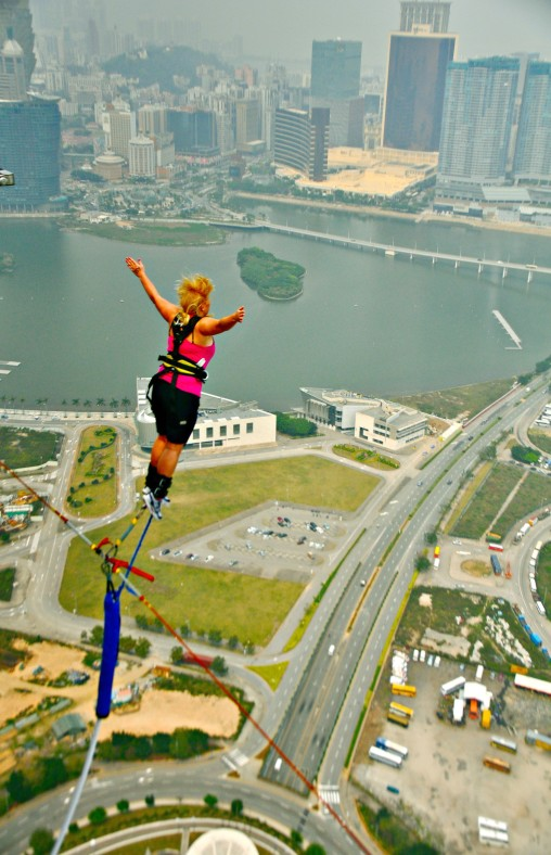 Bungee Jumping in Macau