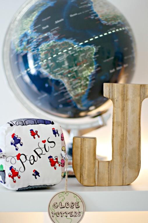 Globe Totters Paris City Block