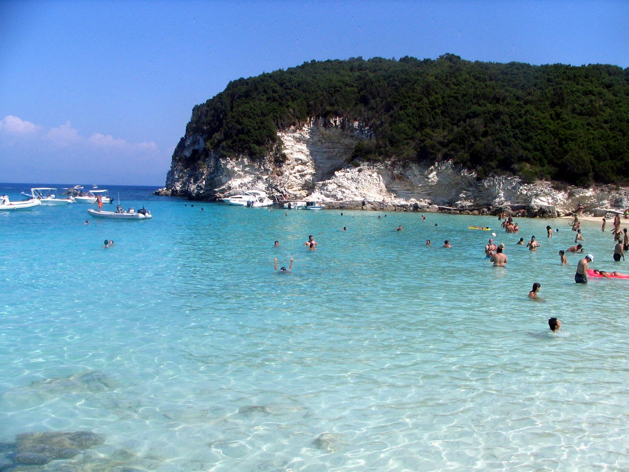 Antipaxos Erika Beach
