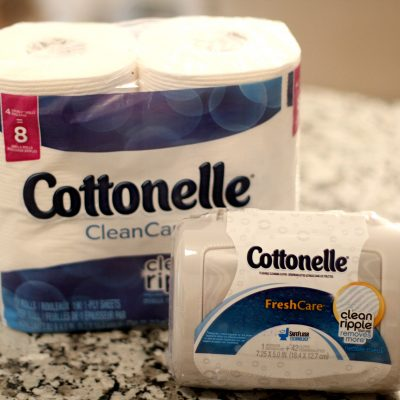 Cottonelle® with CleanRipple® Texture