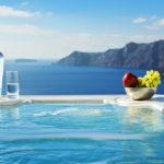 Private Pools Of Eternal Love In Santorini