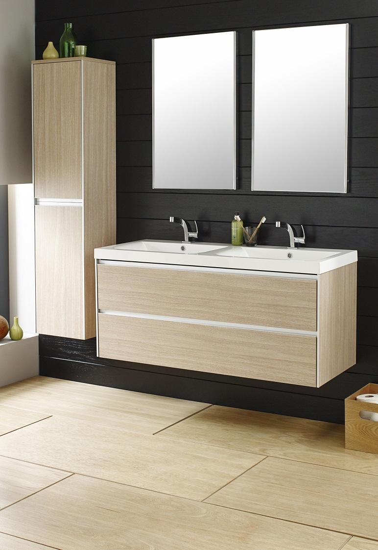 Light Oak Vanity Sink