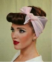 Headscarf Updo