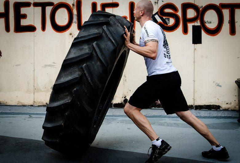 Tyre Flipping