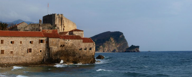 Budva Old Citadel And Island Panorama