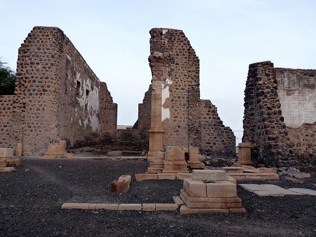 Ruins at Cidade Velha Fort