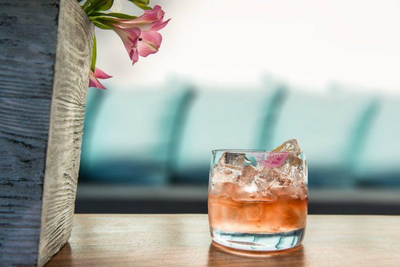 Cocktail at Catch Restaurant
