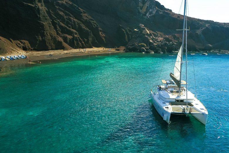 Spiridakos Sailing Santorini Sailing Cruise