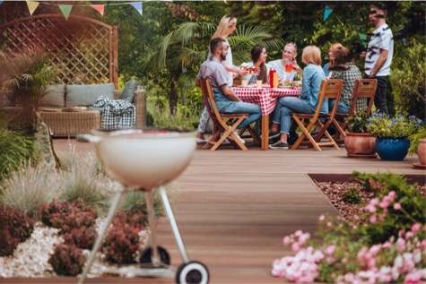 Outdoor Entertainment Space