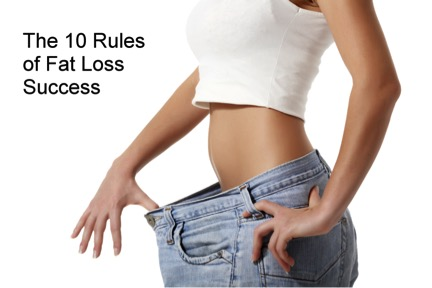 Rules Of Fat Loss