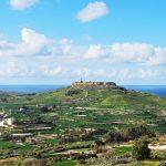 Taking an adventure tour with a Tuk Tuk through Gozo
