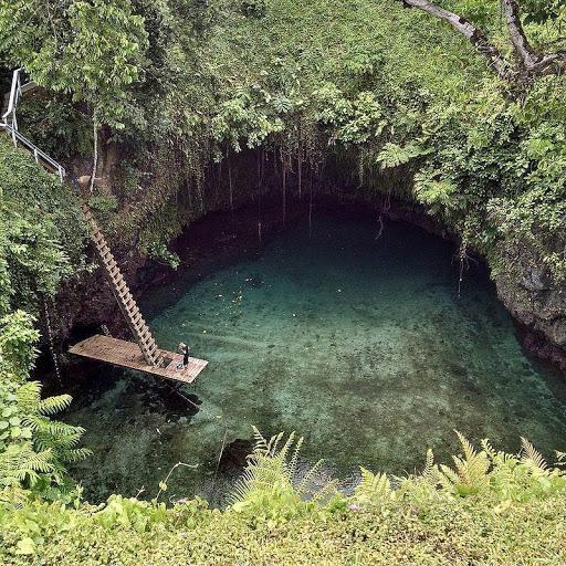 To Sua Ocean Trency, Samoa