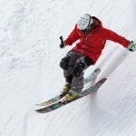 Ski the alpine ranges for the thrill and added health benefits