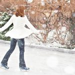 Maintenance-free synthetic ice-rinks are easy to install at homes