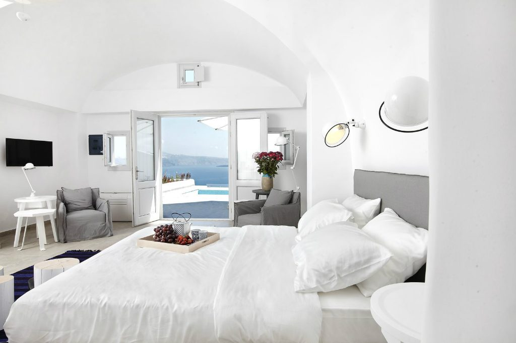 Interiors of Santorini Secret Suites & Spa hotel