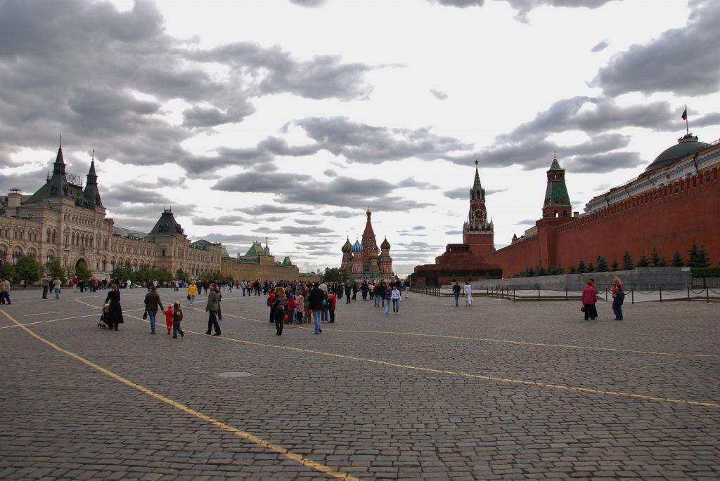 Mosca Piazza Rossa