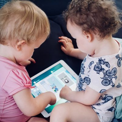 Babies On A Tablet
