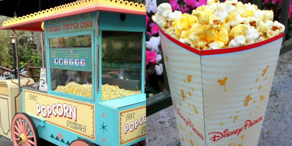 Refillable Popcorn at Disney