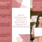 Info-graphic By Beth DeBouvre How To Become A Creative Entrepreneur