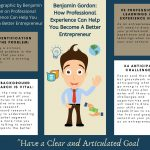 2020 Info-graphic by Benjamin Gordon On Professional Experience Can Help You Become A Better Entrepreneur