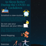 2020 Infographic by Adam K Veron: Tips to Sleep Better During the COVID-19  Lockdown