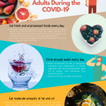 Infographic by Adam Veron: Nutrition advice for adults during the COVID-19